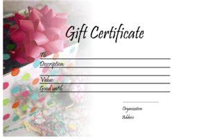 printable gift vouchers uk gift certificate templates printable gift certificates
