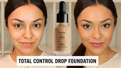 Nyx Total Drop Foundation nyx total drop foundation impression