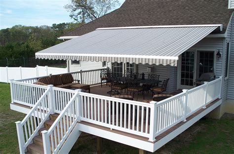 retractable awning for deck muskegon awnings commercial and residential awnings in