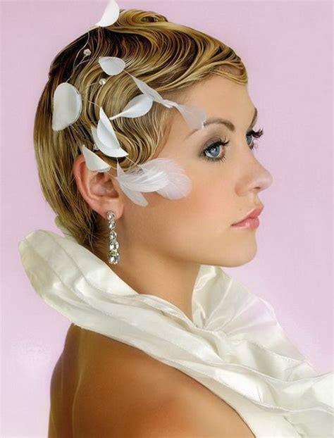 elegant hairstyles short elegant short bridal hairstyles pretty designs