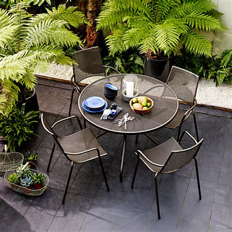 emu italian outdoor furniture buy emu ala mesh outdoor furniture lewis