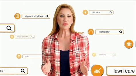 home advisor tv commercial featuring amy matthews ispot tv homeadvisor tv commercial basic repairs to remodels