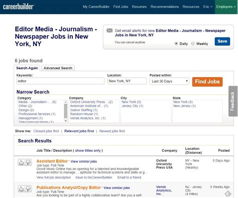 the best way to organize your job search