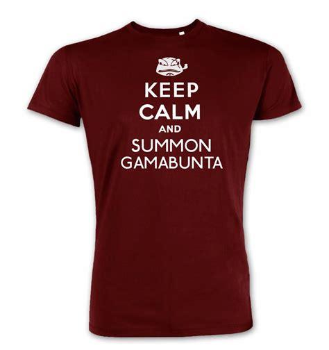 Kaos Keep Calm Minecraft Tshirt T Shirt T Shirt keep calm and summon gamabunta t shirt somethinggeeky