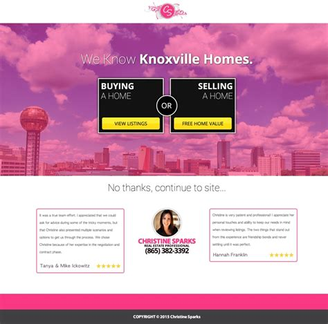 5 Real Estate Templates For Building High Converting Landing Pages Leadpages Blog Leadpages Free Templates