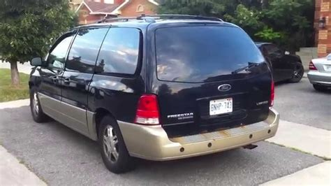 how does cars work 2004 ford freestar on board diagnostic system 2004 ford freestar limited startup engine in depth tour youtube