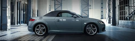 audi tt roadster  years edition