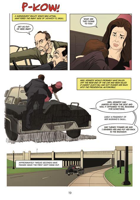 the warren commission report book comic book pros tackle the warren commission report what