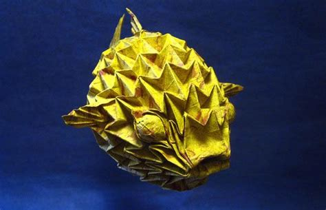origami puffer fish origami insects and fish by sipho mabona telegraph