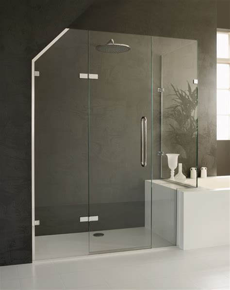 Bespoke Made To Measure Shower Enclosures For Lofts Bespoke Glass Shower Doors