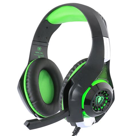Headphone Pc gaming headset for ps4 psp pc headphone tablet laptop microphone 3 5mm headband led light gm 1