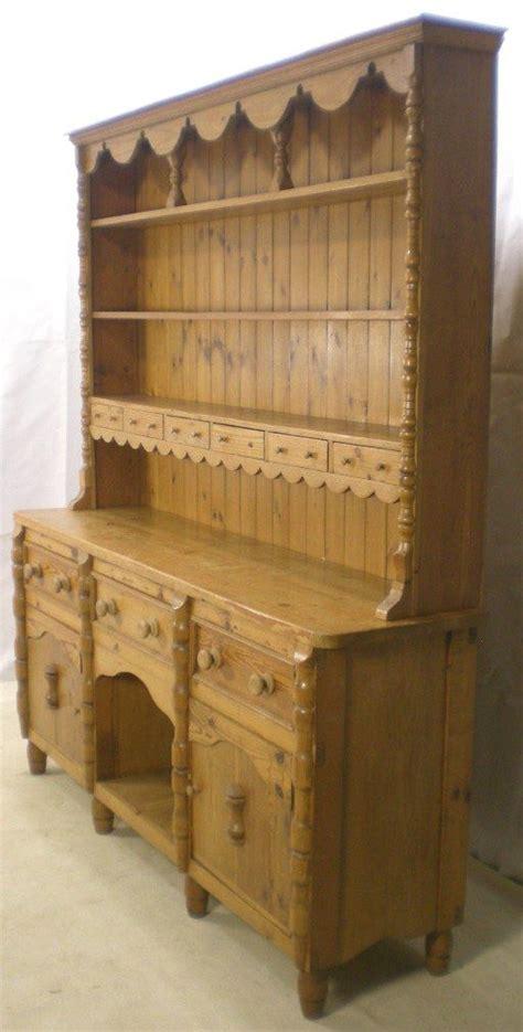 natural pine welsh dresser large pine welsh dresser sideboard base sold welsh