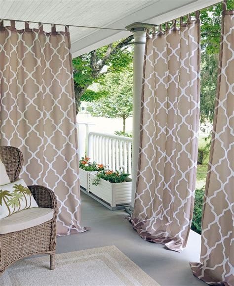screen porch curtains best 20 patio curtains ideas on pinterest outdoor