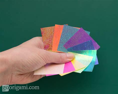 Shiny Origami Paper - chameleon shiny origami paper white go origami