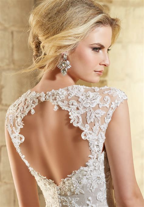lace coverlet mori lee bridal wonderful lace coverlet style 11201