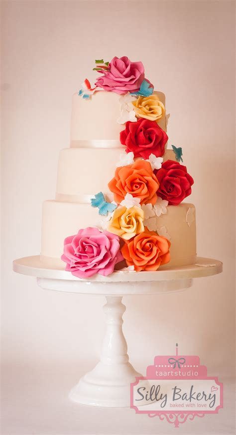 Colorful Wedding Cakes by Colorful Wedding Cake Cakecentral