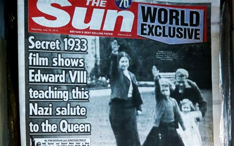 film of queen giving nazi salute british royal family urged to release material confirming