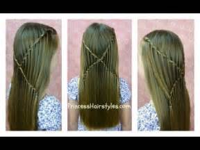 waterfall hairstyle step by step how to do criss cross waterfall twist braid hairstyles