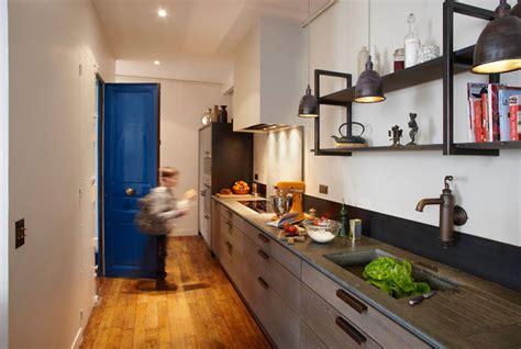 entr馥 cuisine cuisine couloir inspiration cuisine