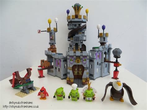 Lego Angry Birds King Pig lego king pig castle et speaks from home