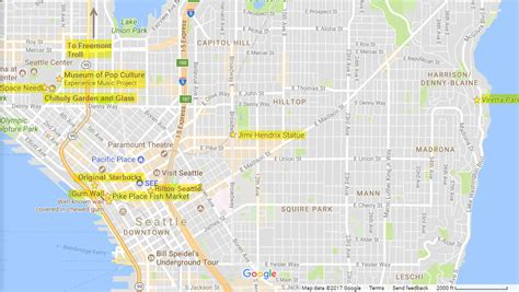 seattle map with landmarks 9 pictures of seattle landmarks for instagram