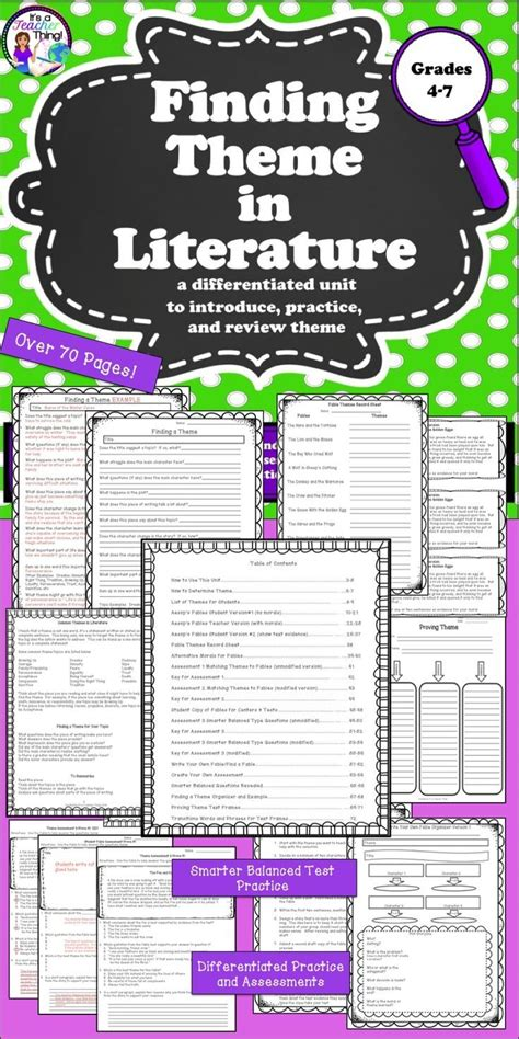 themes in literature games 16370 best ideas for the classroom grades 3 5 images on