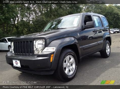 jeep liberty 2010 interior charcoal pearl 2010 jeep liberty sport 4x4