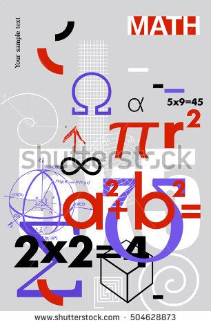 vector seamless pattern mathematical formulas symbols