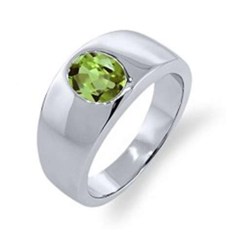 Cincin Oval Olive Green Peridot Size Silver s peridot jewelry