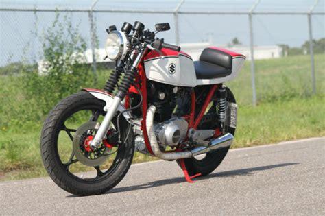 Build A Suzuki Motorcycle Cafe Racer Suzuki Gs450 Custom Vintage Road Race Style