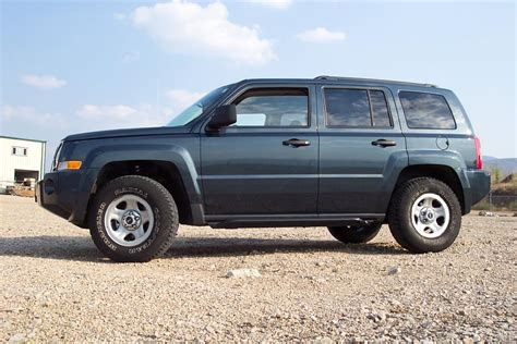 jeep patriot 2007 tire size pics new lift and rock sliders jeep patriot