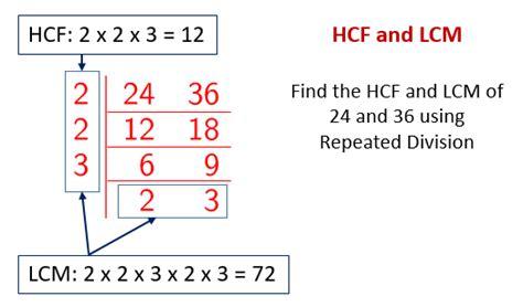 diagram exles division hcf lcm solutions exles worksheets