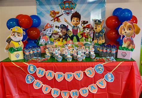 Paw Patrol Decorations by Paw Patrol Happy Birthday Banner Learn How To Make With