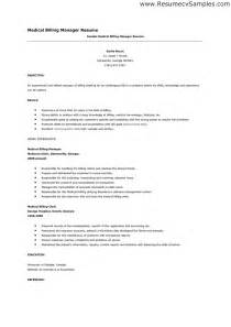 Winning Resume Sles by Billing Resumes Sles Jianbochen