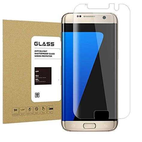Paket Anti Soft Tempered Glass Samsung S7 Edge S7 galaxy s7 edge glass screen protector 2gen acoverbest import it all