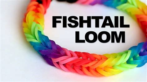 Fishtail Loom Bracelet   Tutorial    Rainbow Loom   YouTube