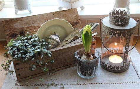 Weihnachtsdeko Fensterbank Shabby by Vintage Fensterbank Deko Hyazinth Kerzenlaterne Und