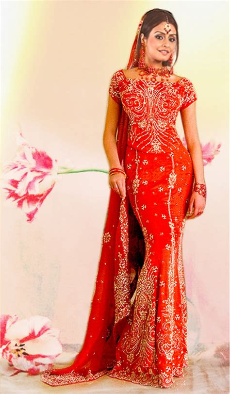 Asian Wedding Dresses designer hamid hussain asian bridal dresses