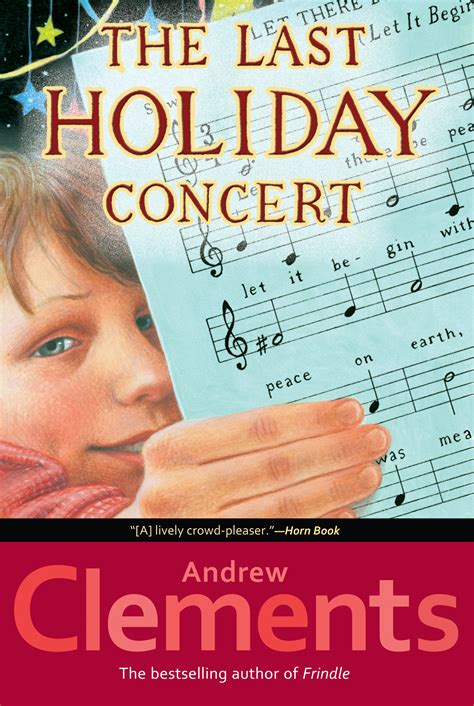 last in my books the last concert book by andrew clements