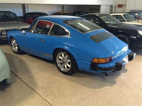 Mexico Blue Porsche For Sale 1975 Porsche 911s Restored Mexico Blue For Sale Photos