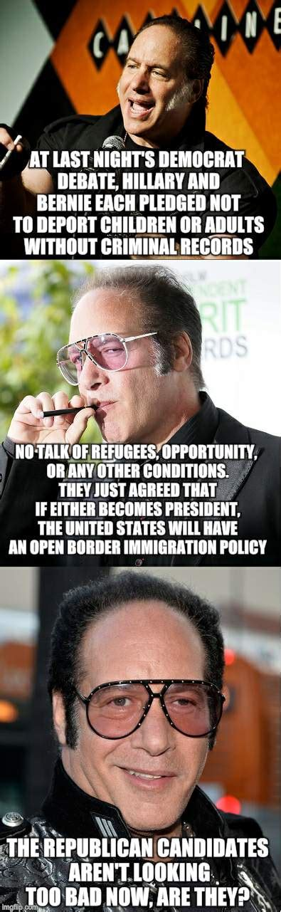 Andrew Dice Clay Meme - the say anything to get votes party candidates make one