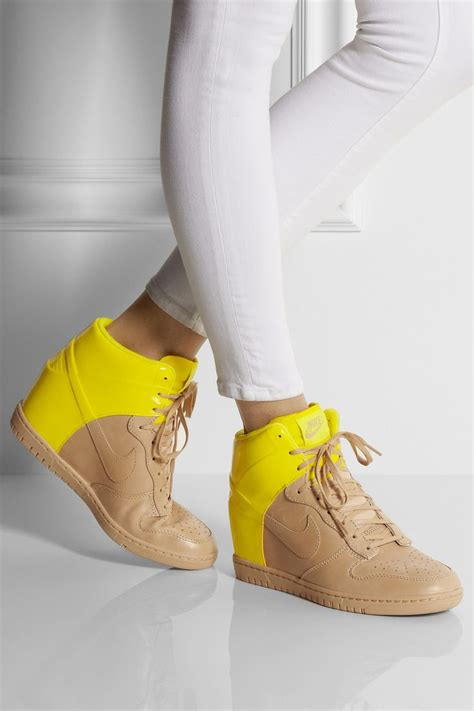 nike wedge sandals nike nike shoes and leather wedges on
