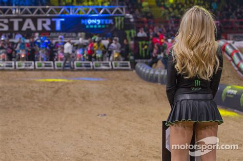 monster girl search europe 2012 calendar shoot lovely monster girl at supercross paris bercy