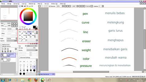 tutorial paint tool sai indonesia pdf cara memakai paint tool sai secara sederhana otaku indonesia