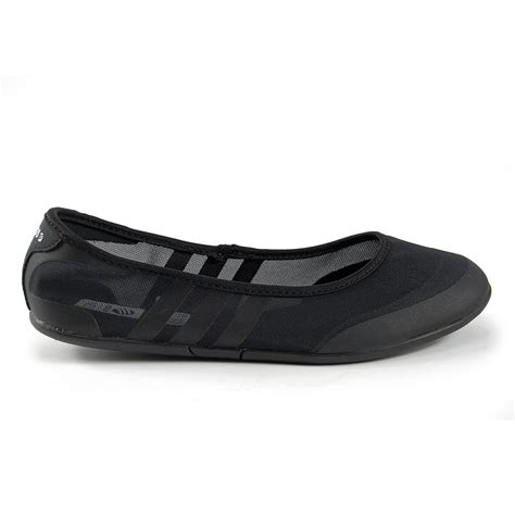 adidas shoes flat adidas sunlina womens black ballet flat shoes new