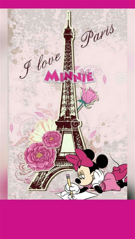 pin  nikkladesigns  minnie mouse wallpaper paris