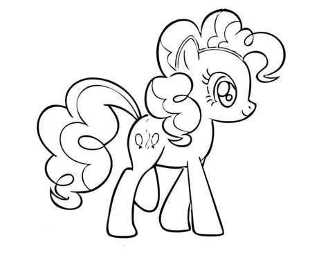 Free Coloring Pages Of My Little Pony Pinkie Pie My Pony Pinkie Pie Coloring Pages