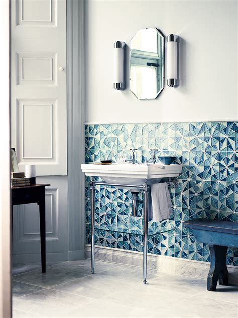 Bathroom Storage Fired Earth 10 Wallcovering Trends For Ss15 Real Homes