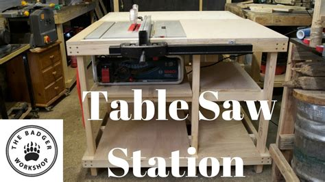 Bosch Table Saw Fence Upgrade Modern Coffee Tables And