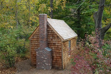Thoreaus Cabin by Hometalk Replica Of Henry David Thoreau S Cabin At